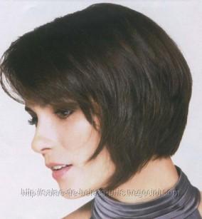 cabelo curto com progressiva