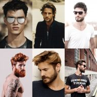 Cabelo da moda 2017 masculino