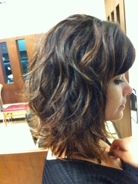 cabelo repicado atrás