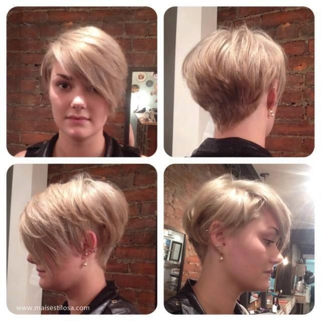 cabelos curtos femininos estilosos