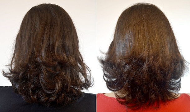 cabelos curtos repicados em camadas costas