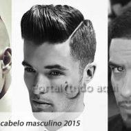 Cabelos masculinos curtos 2015