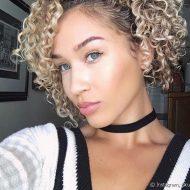 Como arrumar cabelo curto cacheado