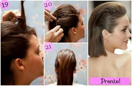 como fazer penteado em cabelo curto