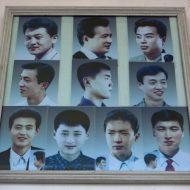Coreia do norte corte de cabelo