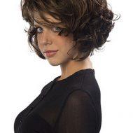 Corte cabelo ondulado curto