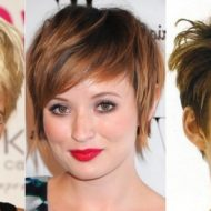 Corte curto de cabelo feminino