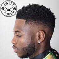 Corte de cabelo afros masculino