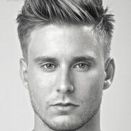 Corte de cabelo arrepiado masculino 2015