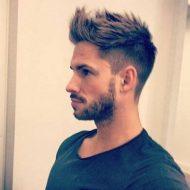 Corte de cabelo arrepiado masculino 2016