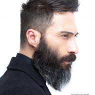 Corte de cabelo com barba