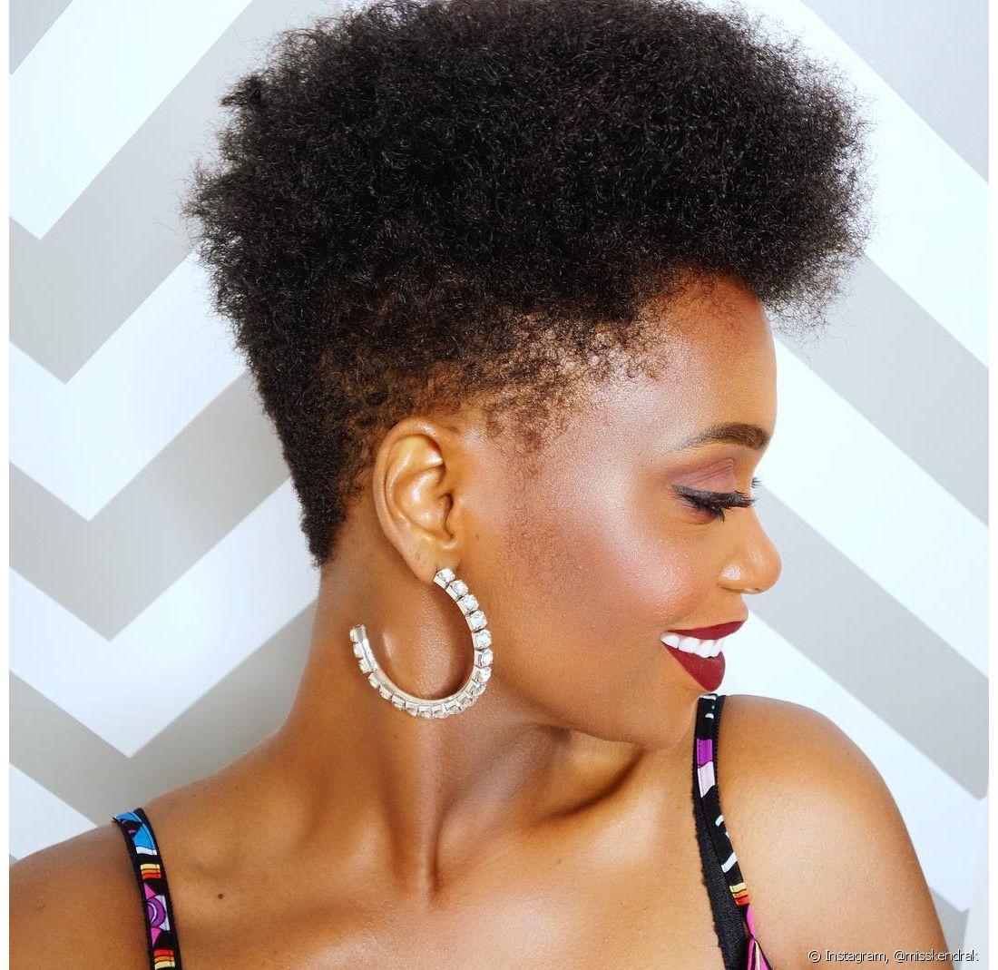 corte de cabelo crespo feminino