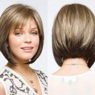 Corte de cabelo curto 2015 para rosto redondo