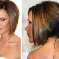 Corte de cabelo curto atras e comprido na frente