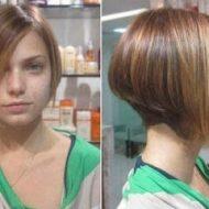 Corte de cabelo curto atras e comprido na frente passo a passo