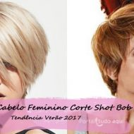 Corte de cabelo curto feminino 2017