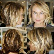 Corte de cabelo curto repicado atras