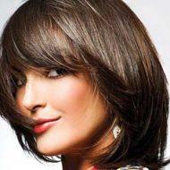 Corte de cabelo curto rosto redondo