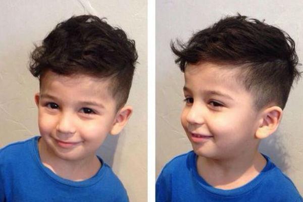 corte de cabelo de menino
