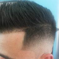 Corte de cabelo disfarçado