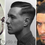 Corte de cabelo disfarçado masculino afro