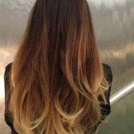 Corte de cabelo em camadas com californiana