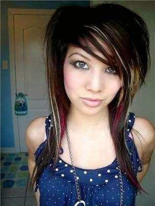 corte de cabelo emo
