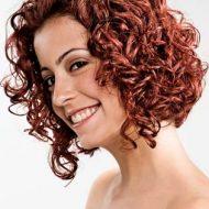 Corte de cabelo encaracolado