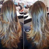Corte de cabelo feminino 2015 em camadas