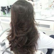 Corte de cabelo feminino comprido