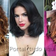 Corte de cabelo feminino long bob