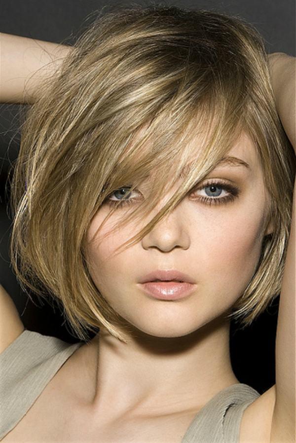 corte de cabelo feminino rosto redondo