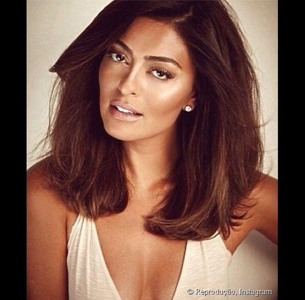 corte de cabelo juliana paes