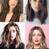 Corte de cabelo long bob curto