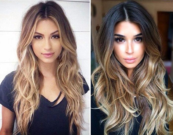 corte de cabelo longo 2016
