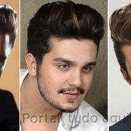 Corte de cabelo masculino 2015 topete