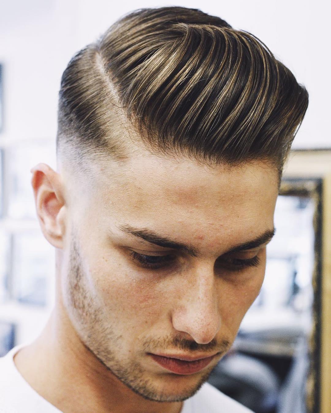 corte de cabelo masculino 2017 topete