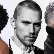 Corte de cabelo masculino com barba