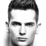 Corte de cabelo masculino curto dos lados