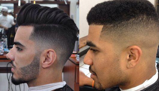 corte de cabelo masculino degrade americano