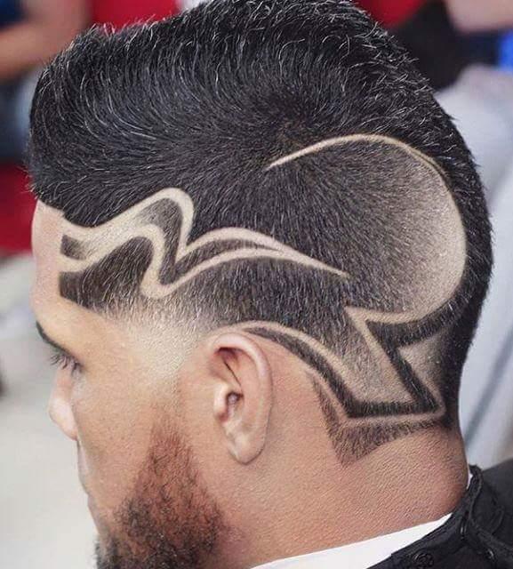 corte de cabelo masculino desenho