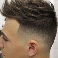 Corte de cabelo masculino em degrade