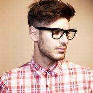 Corte de cabelo masculino liso