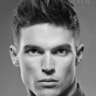 Corte de cabelo masculino raspado do lado