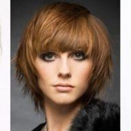 Corte de cabelo medio escadeado
