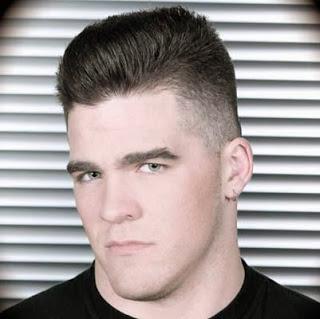 corte de cabelo militar moderno