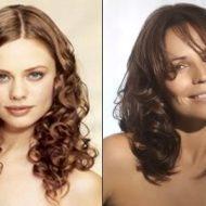 Corte de cabelo ondulado feminino