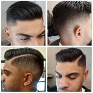 Corte de cabelo razor part