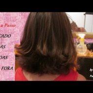 Corte de cabelo repicado nas pontas