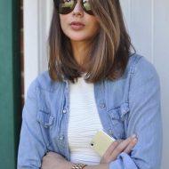 Corte de cabelo retos medio